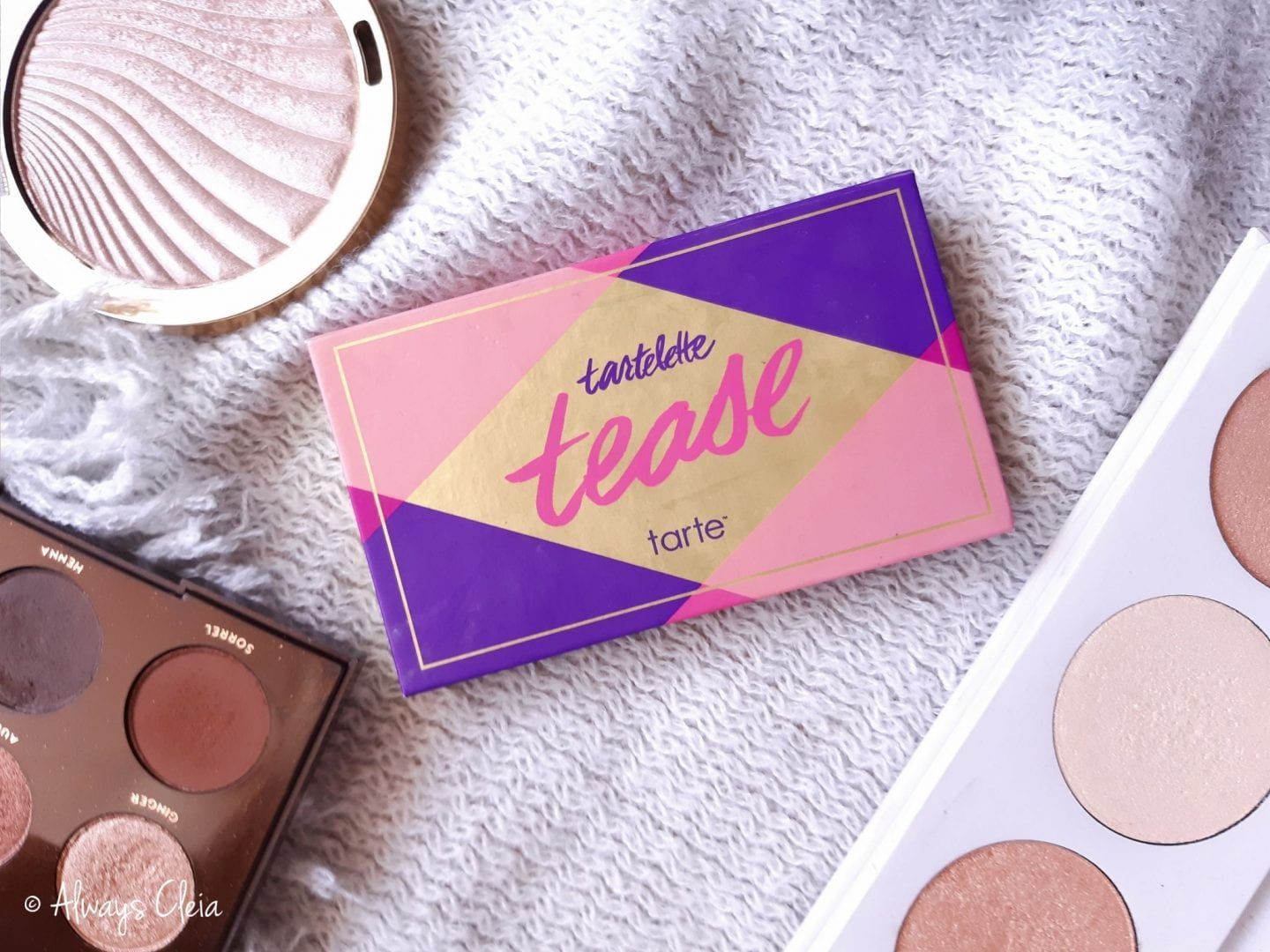 Tarte Tartelette Tease Eyeshadow Palette Swatches + Thoughts