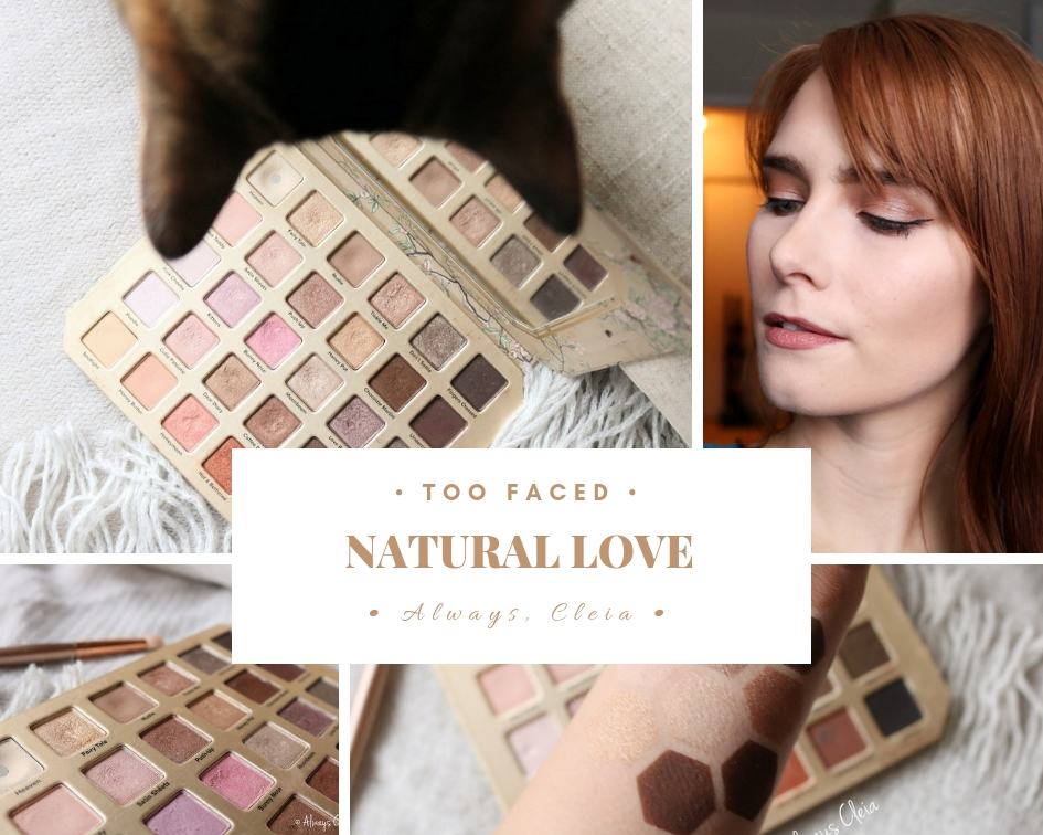 Too Faced Natural Love Palette Review + Swatches