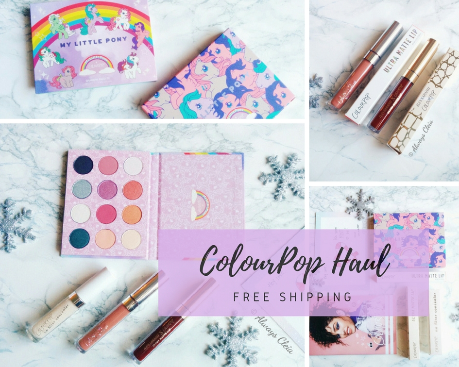 ColourPop Haul – FINALLY!