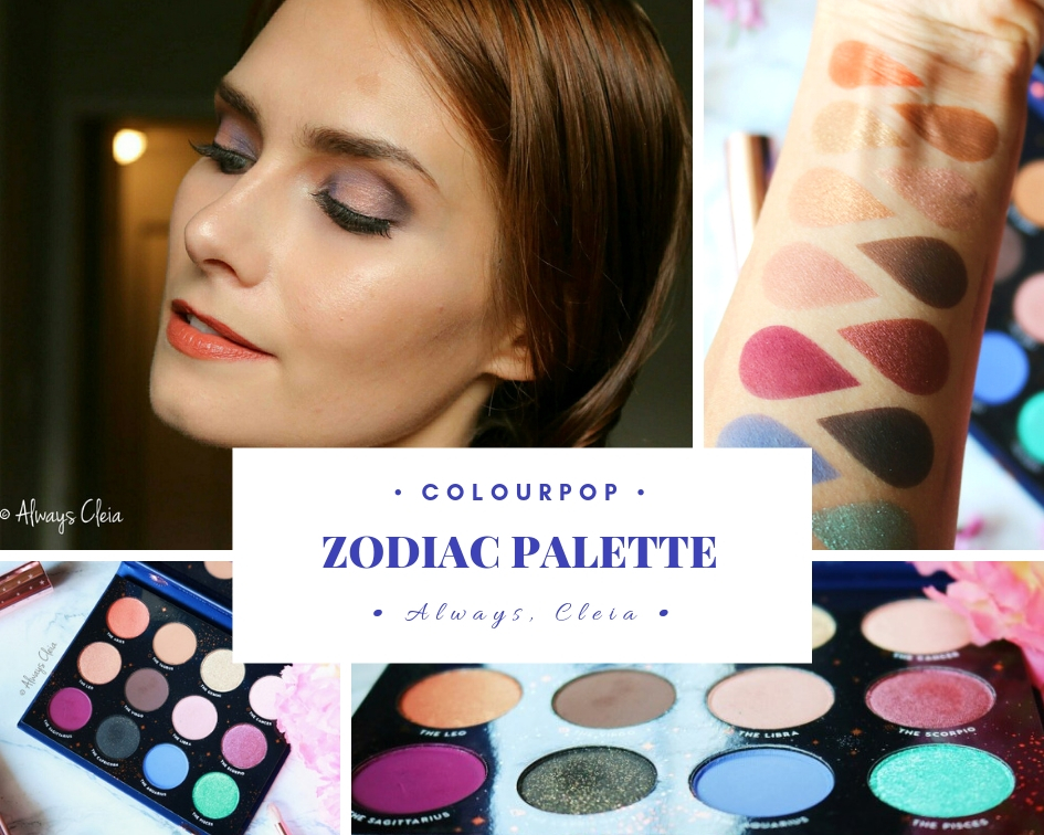 ColourPop Zodiac Palette Review
