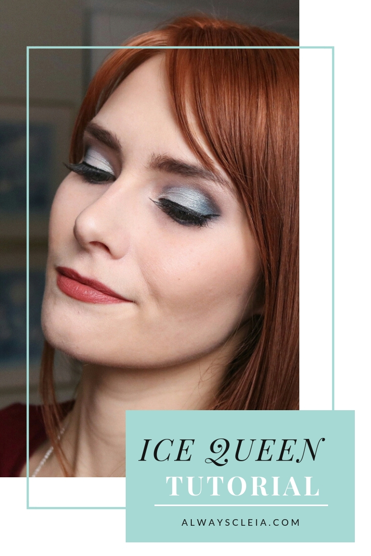 Ice Queen Holiday Makeup Tutorial