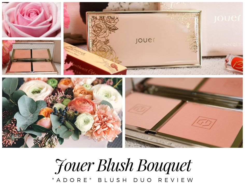 Jouer Cosmetics Blush Bouquet in Adore Review