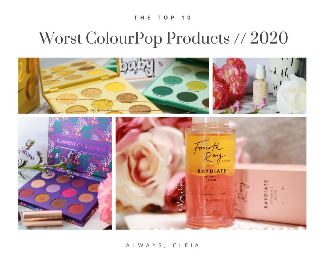 The Worst of ColourPop | Top 10 Worst Products